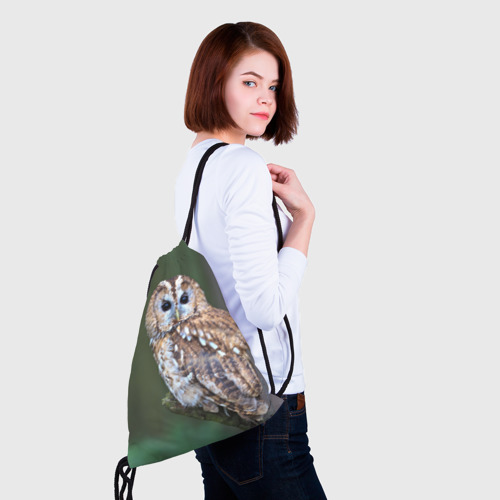 Рюкзак-мешок 3D  Фото 02, Сова