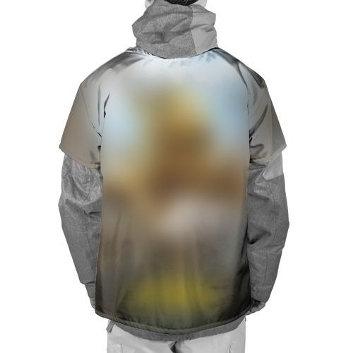 Накидка на куртку 3D  Фото 02, ПЛОХОЙ КОТ ШЕРАФЕТТИН