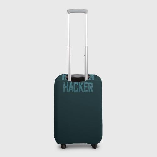 Чехол для чемодана 3D  Фото 02, Русский хакер