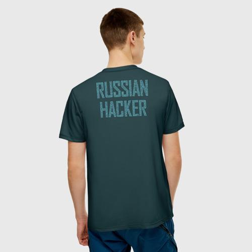 Мужская футболка 3D  Фото 02, Русский хакер