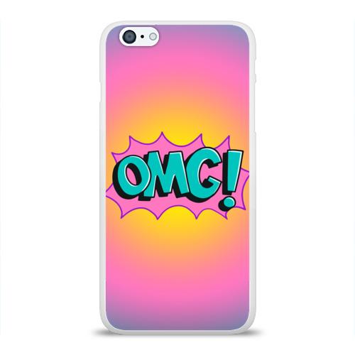 Чехол для Apple iPhone 6Plus/6SPlus силиконовый глянцевый  Фото 01, OMG