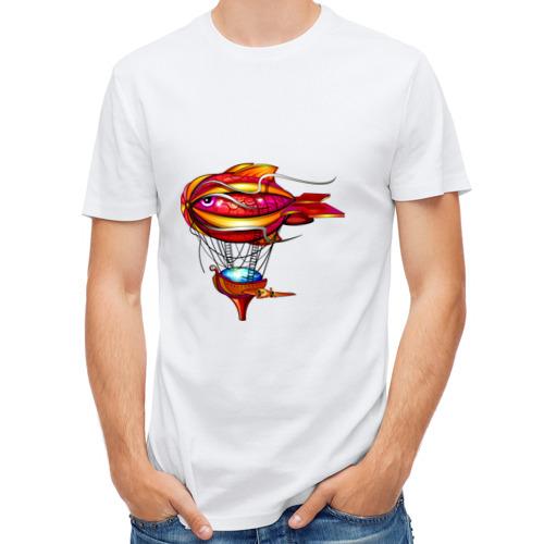 Мужская футболка полусинтетическая  Фото 01, Летучий корабль