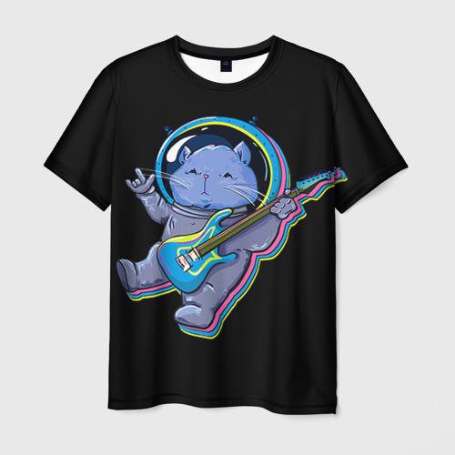 Мужская футболка 3D Космокот