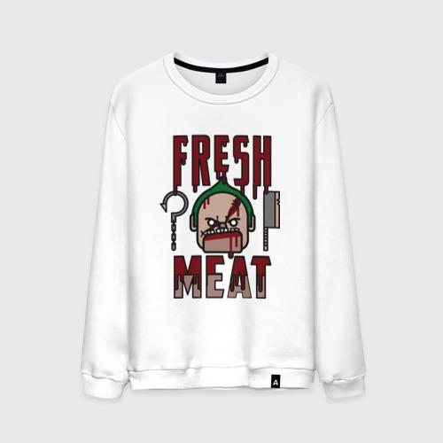 Мужской свитшот хлопок  Фото 01, Dota 2 - Fresh Meat