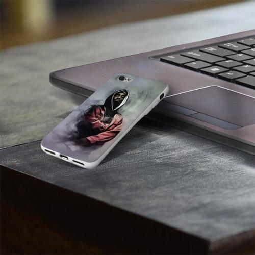 Чехол для Apple iPhone 8 силиконовый глянцевый  Фото 03, Тупак
