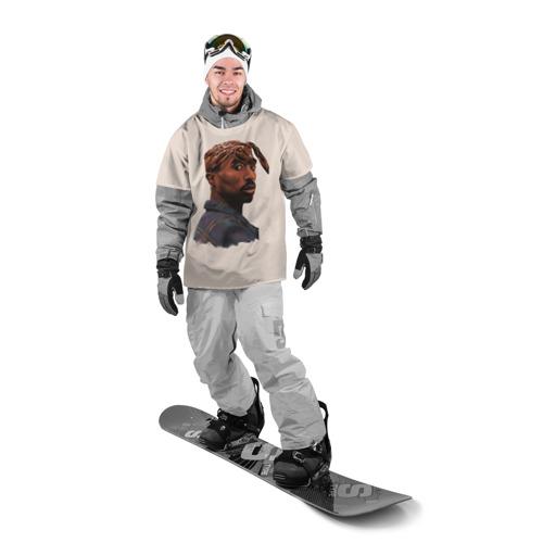 Накидка на куртку 3D  Фото 03, Tupac