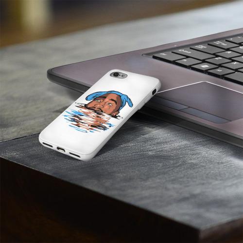 Чехол для Apple iPhone 8 силиконовый глянцевый  Фото 03, Shakur