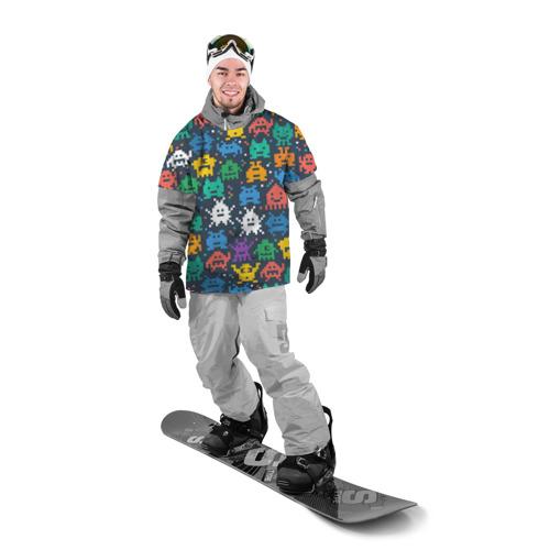 Накидка на куртку 3D  Фото 03, Монстры пиксели