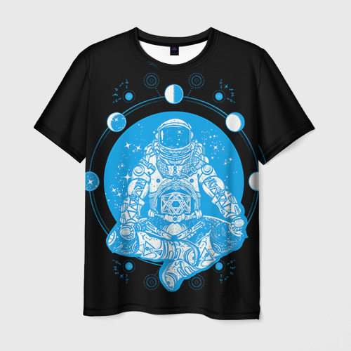 Мужская футболка 3D Космонавт