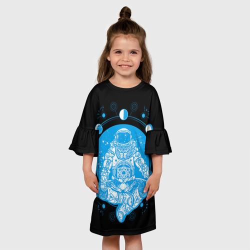 Детское платье 3D  Фото 01, Космонавт