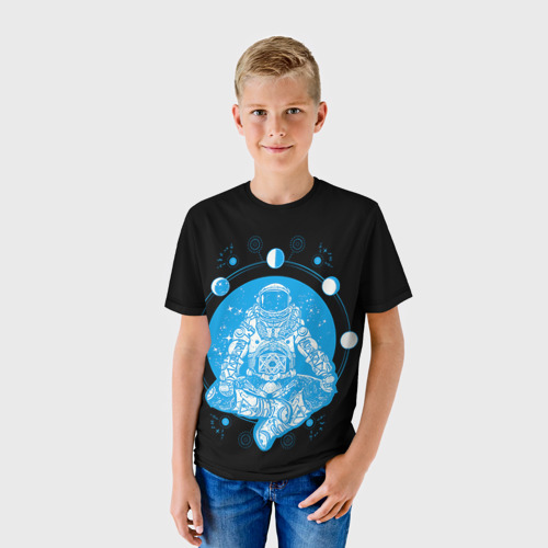 Детская футболка 3D Космонавт