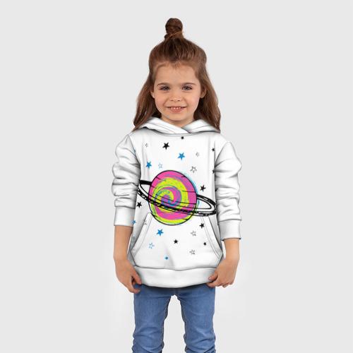 Детская толстовка 3D Планета