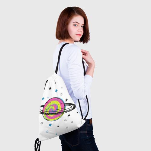 Рюкзак-мешок 3D  Фото 02, Планета