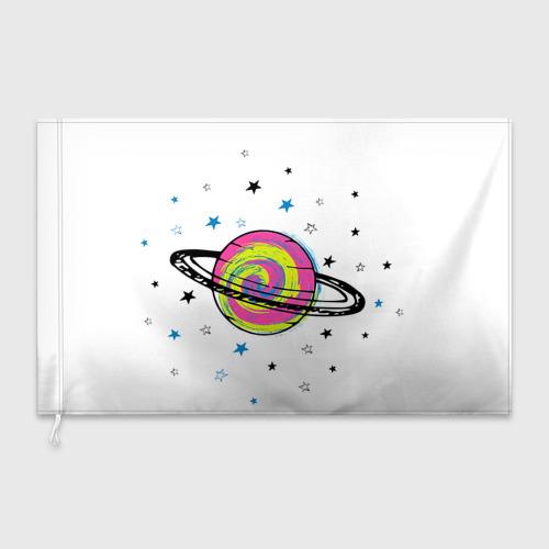 Флаг 3D Планета Фото 01