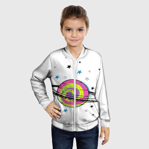 Детский бомбер 3D  Фото 06, Планета