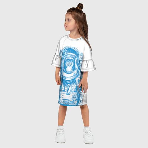Детское платье 3D  Фото 03, Космомакака