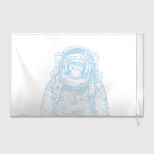 Флаг 3D Космомакака Фото 01
