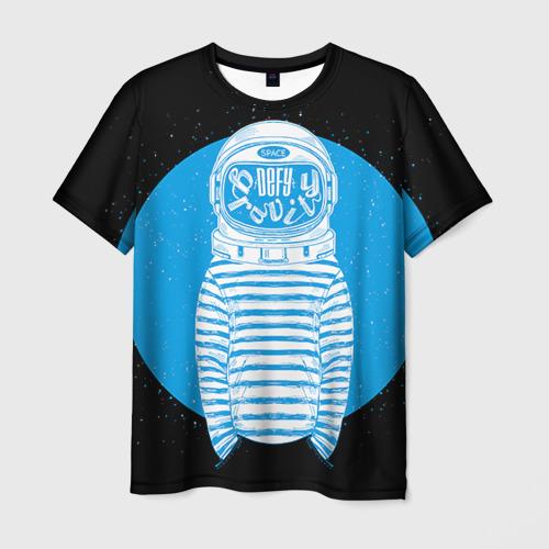 Мужская футболка 3D Defy gravity