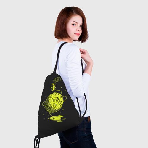 Рюкзак-мешок 3D  Фото 02, Hello!