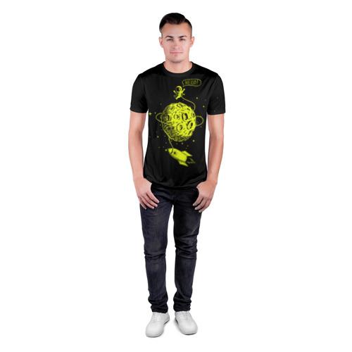 Мужская футболка 3D спортивная Hello! Фото 01
