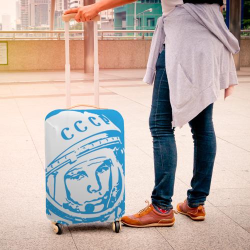 Чехол для чемодана 3D  Фото 04, Гагарин 1