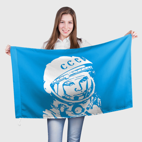 Флаг 3D Гагарин 1 Фото 01