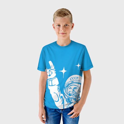 Детская футболка 3D Гагарин 2