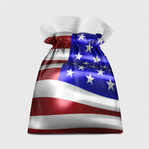 Подарочный 3D мешок  Фото 02, Флаг США с орлом