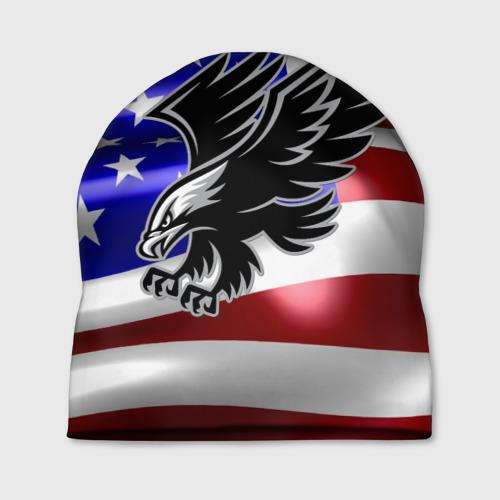 Шапка 3D Флаг США с орлом