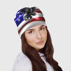 Флаг США с орлом