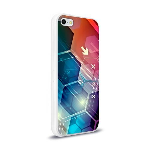 Чехол для Apple iPhone 5/5S силиконовый глянцевый  Фото 02, Hi-tech