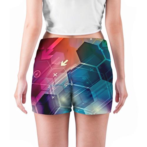Женские шорты 3D  Фото 04, Hi-tech