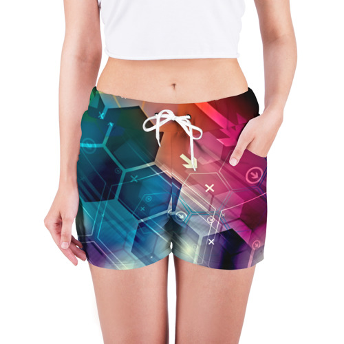 Женские шорты 3D  Фото 03, Hi-tech