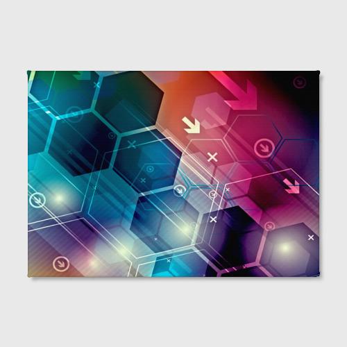 Холст прямоугольный  Фото 02, Hi-tech