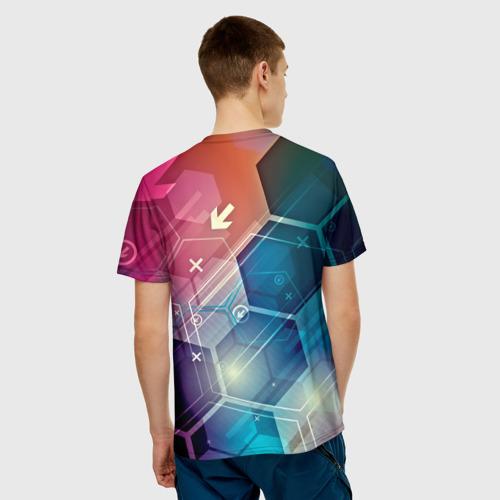 Мужская футболка 3D  Фото 02, Hi-tech