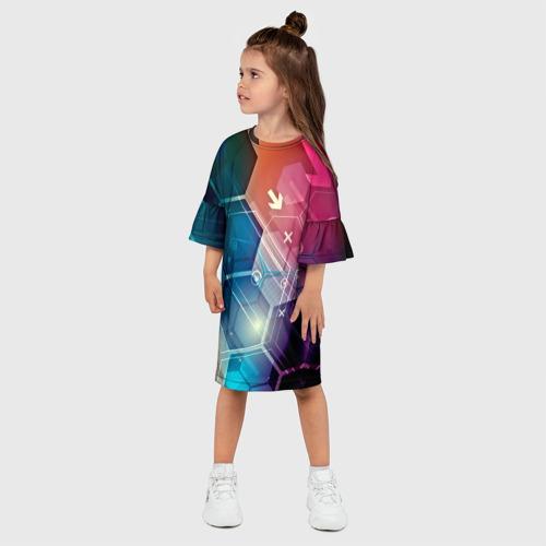 Детское платье 3D  Фото 03, Hi-tech