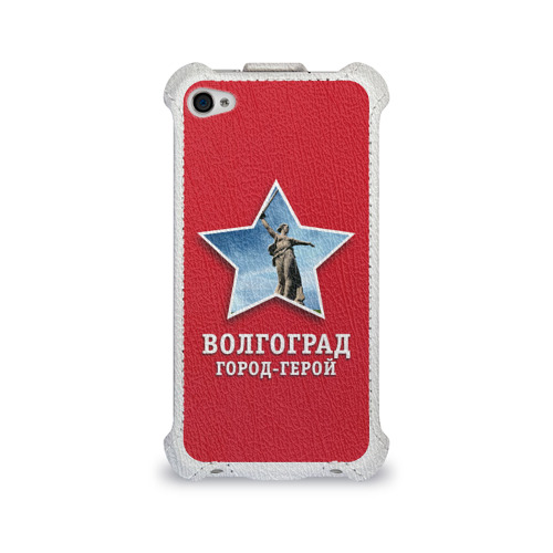 Чехол для Apple iPhone 4/4S flip  Фото 01, Волгоград город-герой