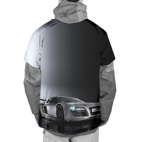 Накидка на куртку 3D  Фото 02, Серебристая Ауди