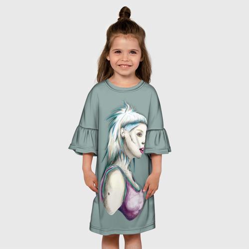 Детское платье 3D  Фото 01, Death