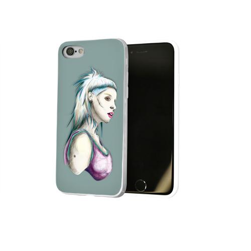 Чехол для Apple iPhone 8 силиконовый глянцевый  Фото 02, Death