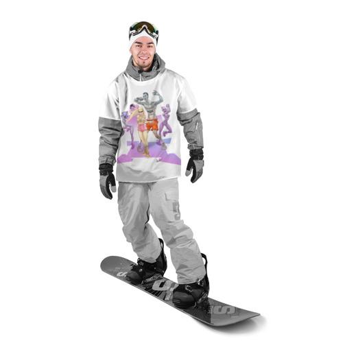 Накидка на куртку 3D  Фото 03, Die Antwoord