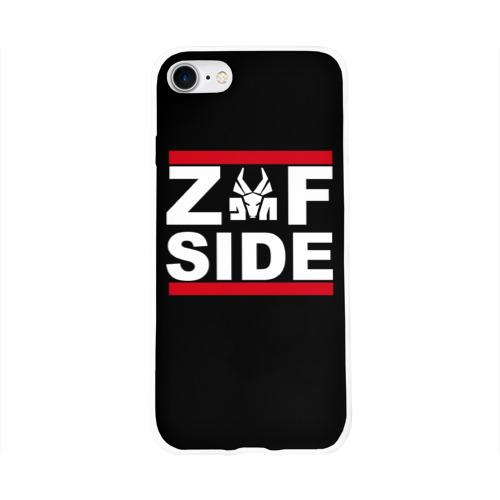 Чехол для Apple iPhone 8 силиконовый глянцевый  Фото 01, Z Side