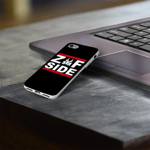 Чехол для Apple iPhone 8 силиконовый глянцевый  Фото 03, Z Side