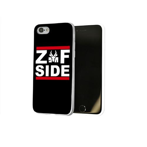 Чехол для Apple iPhone 8 силиконовый глянцевый  Фото 02, Z Side