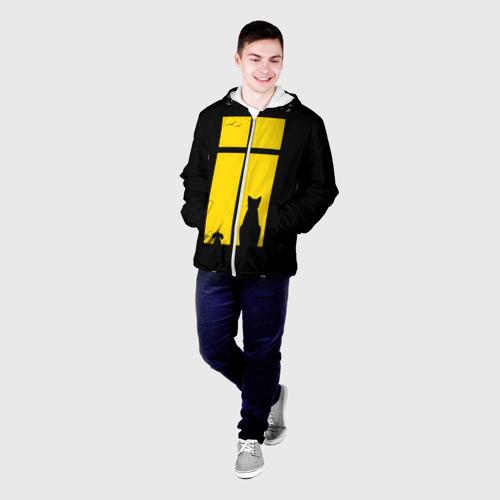 Мужская куртка 3D  Фото 03, Вид в окошко