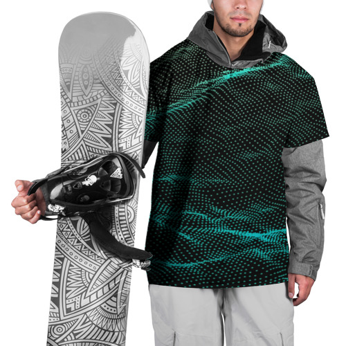 Накидка на куртку 3D  Фото 01, Звуковые волны