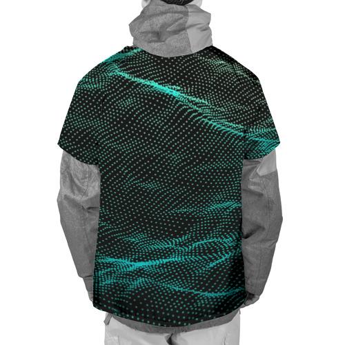 Накидка на куртку 3D  Фото 02, Звуковые волны