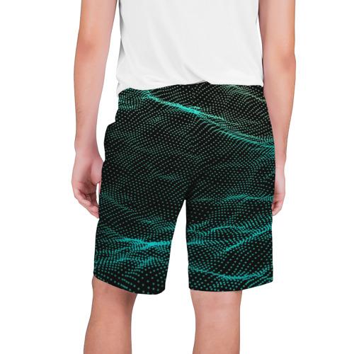 Мужские шорты 3D  Фото 02, Звуковые волны
