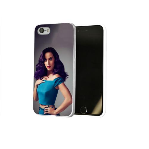 Чехол для Apple iPhone 8 силиконовый глянцевый  Фото 02, Hair
