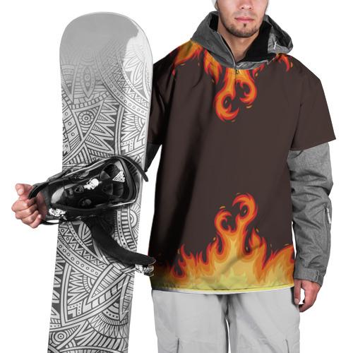 Накидка на куртку 3D  Фото 01, Пламя